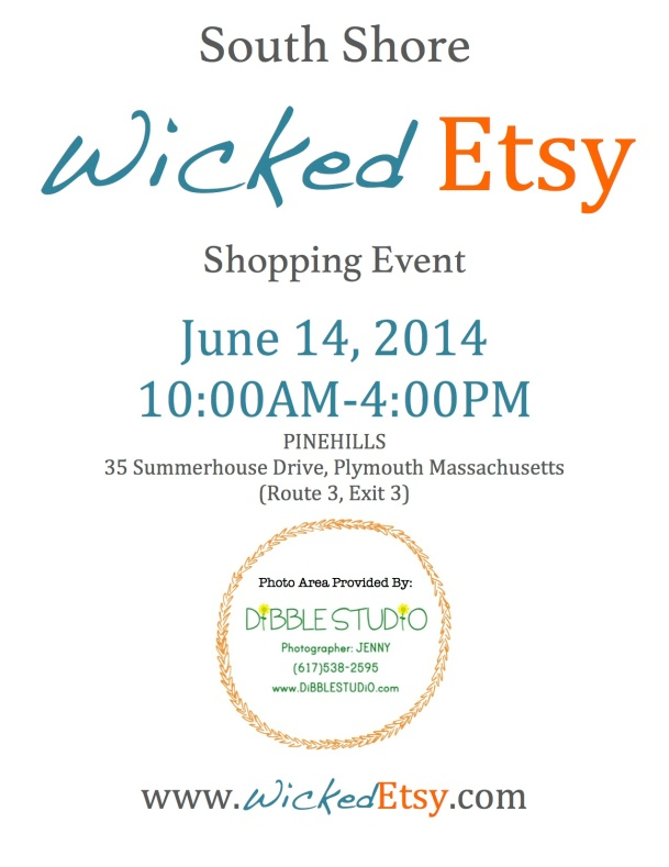 South Shore Wicked Etsy Flyer